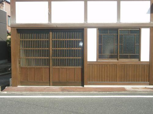 ○○家住宅保存修理工事の建具